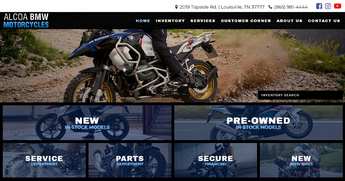 Alcoa Good Times >> Bmw Motorcycle Of Alcoa In Louisville Tn New Used Bmw
